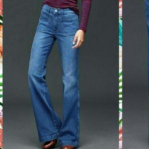 Gap Denim Flare Stretch Jeans
